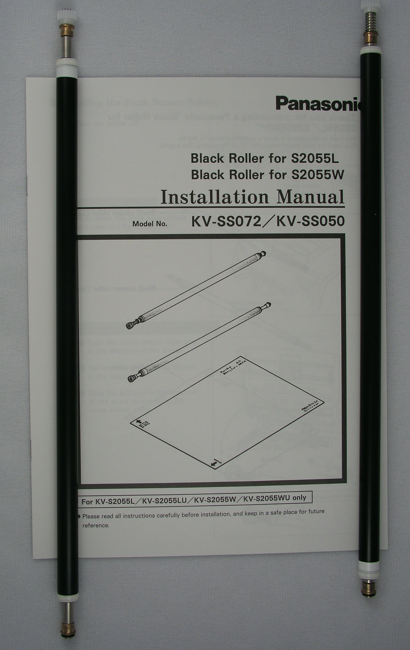 Panasonic Black Reference Roller Kit for KV-S2055/65W